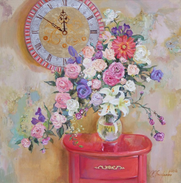 Anastasiia Grygorieva - Bouquet of abundance