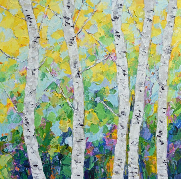 Ann Marie Coolick - Dancing Birch Trees