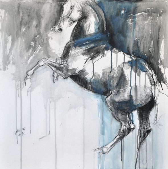 Benedicte Gele - Equine Nude 36t