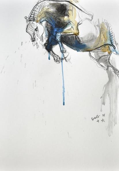 Benedicte Gele - Equine Nude 38t