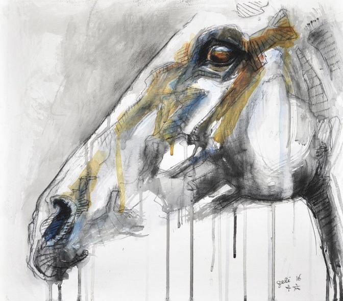 Benedicte Gele - Equine Nude 43t