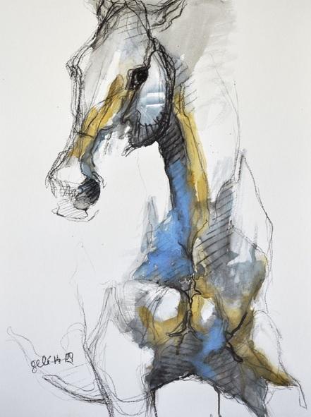 Benedicte Gele - Equine Nude 4t