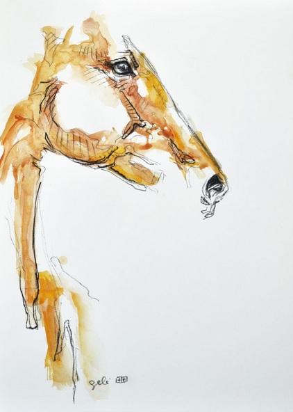 Benedicte Gele - Equine Nude 60t