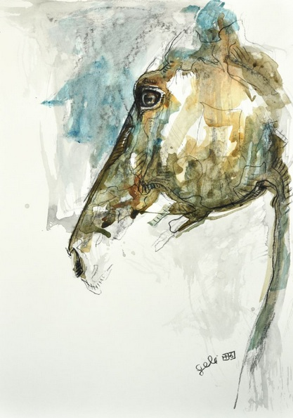 Benedicte Gele - Equine Nude 64t