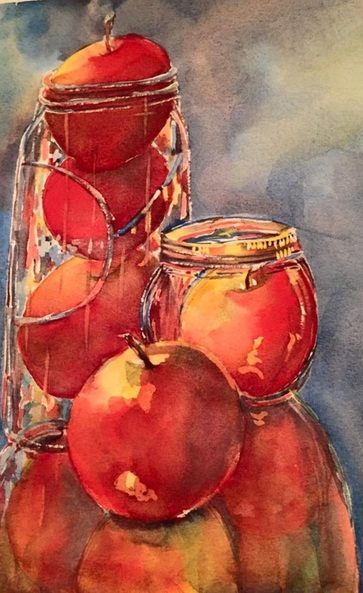 Bronwen Jones - Apples in a Jar