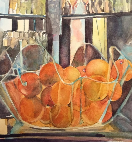 Bronwen Jones - Bowl of Oranges