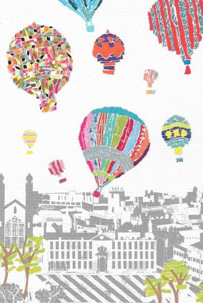 Emma Bennett - Hot Air Balloons Over Cambirdge