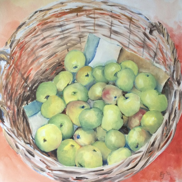Emma-jayne Holmes - Basket of apples