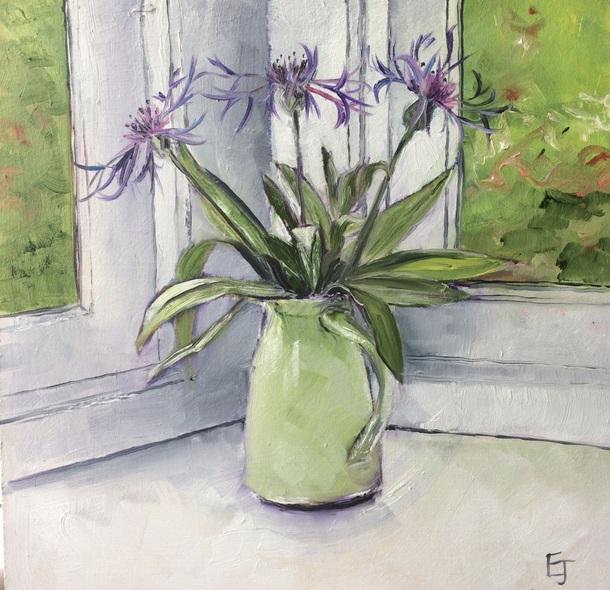 Emma-jayne Holmes - Jug of cornflowers