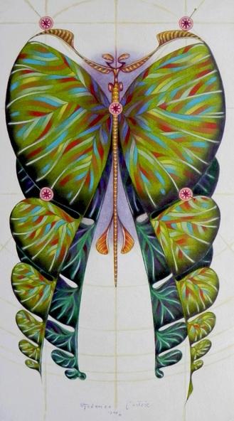 FEDERICO CORTESE - Fibonacci butterfly