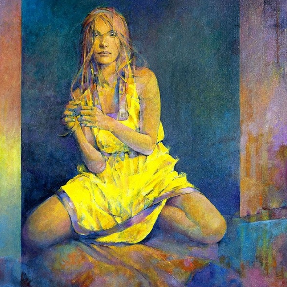 Fabien Clesse - Yellow Dress