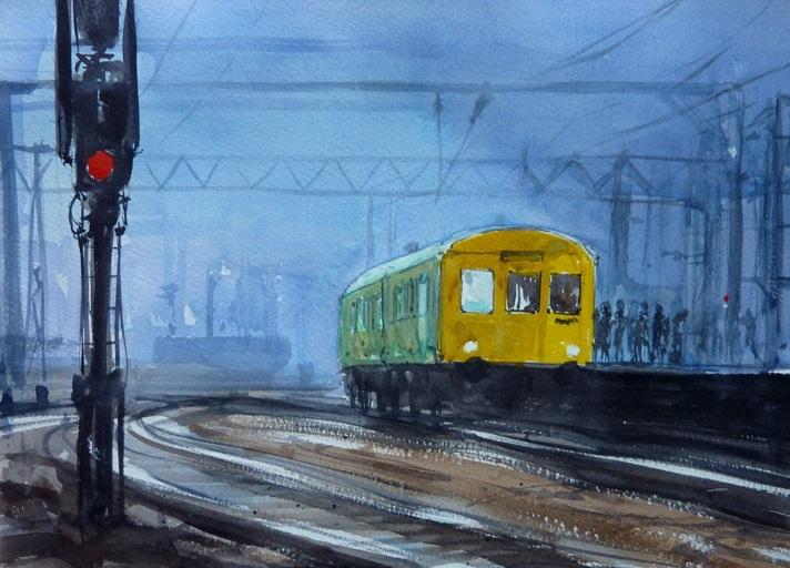 Henry Jones - November Night at Crewe Station
