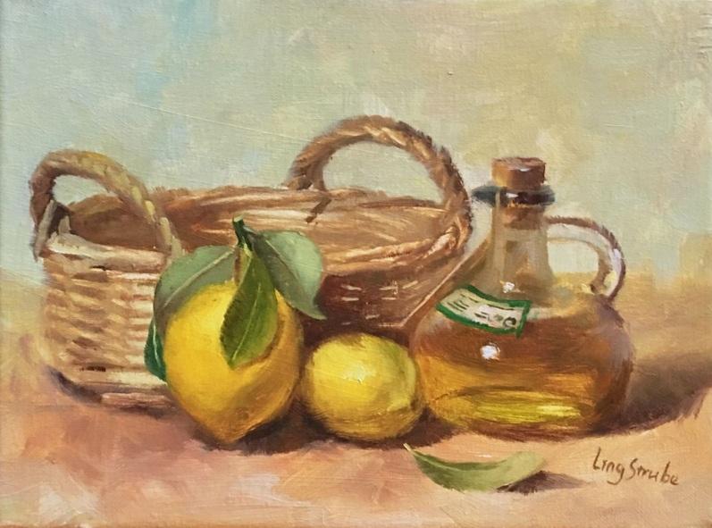 Ling Strube - Still Life with Lemons