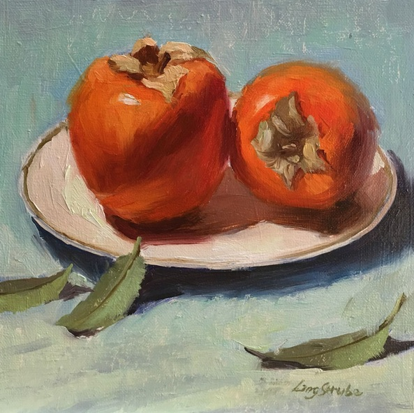 Ling Strube - Two Persimmons