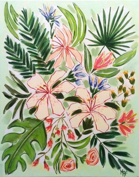 Marisa Añón Frau - Flowers from Benissa