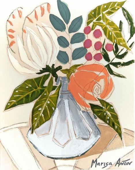 Marisa Añón Frau - Flowers from La Xara