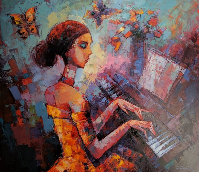 Narek Qochunc - Music and collors
