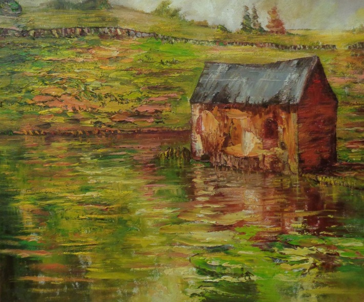 Nathan J Art - A haven in the countryside