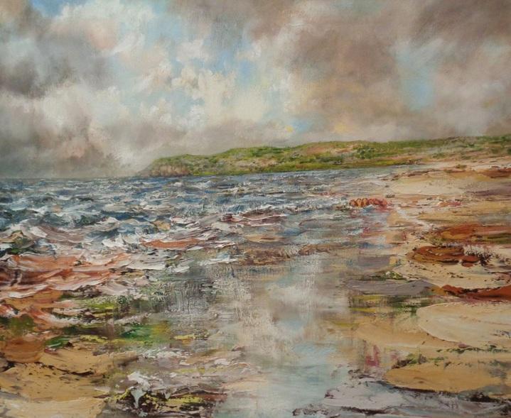 Nathan J Art - Red Wharf Bay