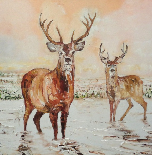 Nathan J Art - This is The first animal based painting of a series which will be in my shop soon