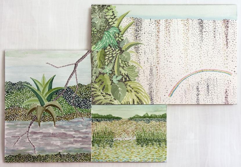 Piergiorgio Rossi - Tropical landscape