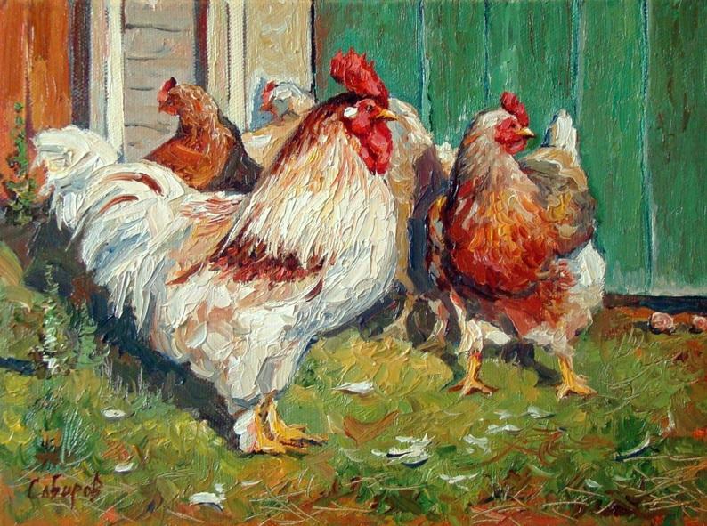 Ruslan Sabiroff - Chickens in Derbyshki village