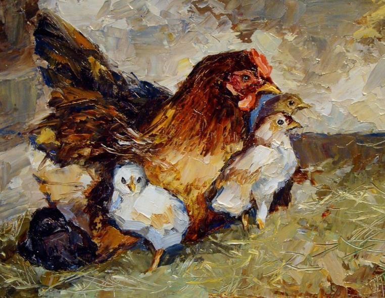 Ruslan Sabiroff - Chickens