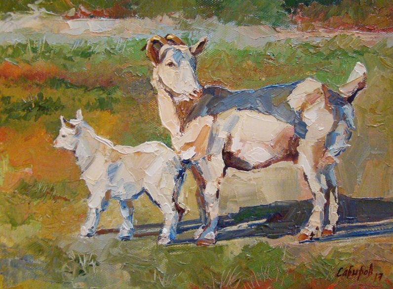 Ruslan Sabiroff - Goats in Derbyshki village