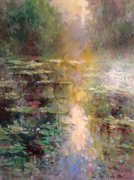 W. Eddie - Water Lilies
