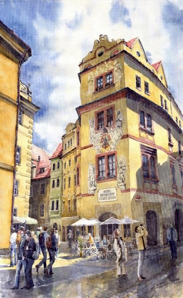 Yuriy Shevchuk - Prague Karlova Street Hotel U Zlate Studny