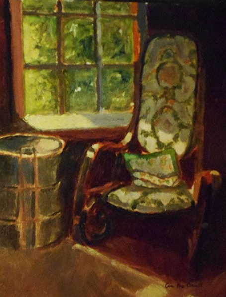 Ann Cameron McDonald - Kitchen Rocking Chair
