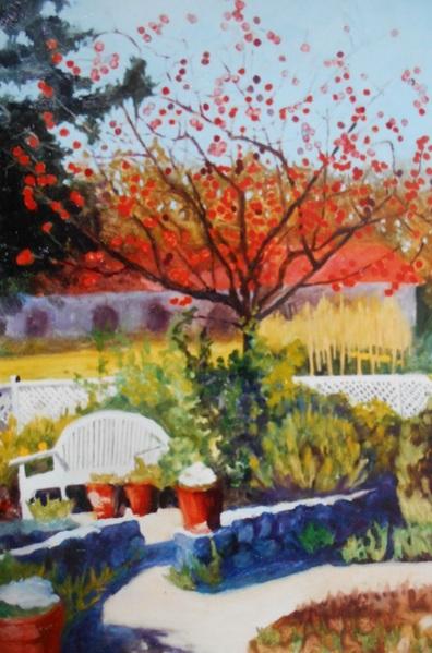 Ann Cameron McDonald - Napa Persimmon Tree