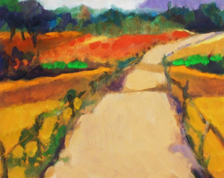 Ann Cameron McDonald - Road with Fence