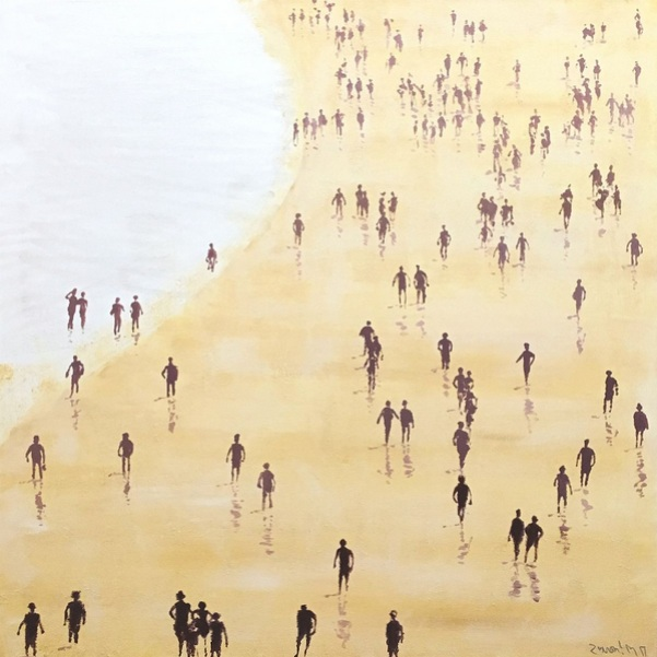 Carlos Martín - Beach. Squared