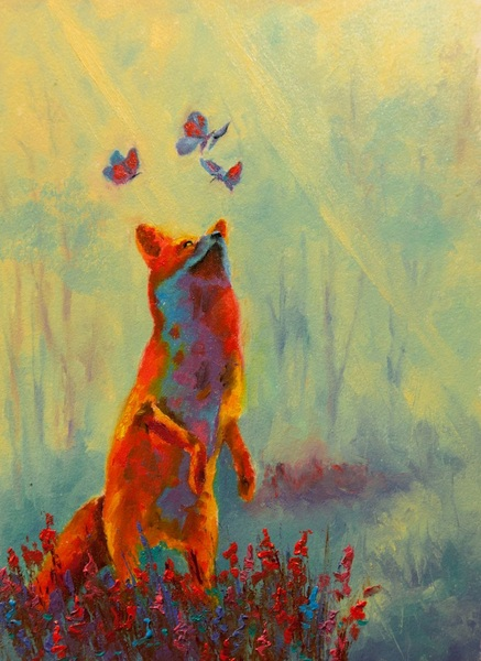 Dan Twitchell, OPA, AIS - Fox & the Butterflies