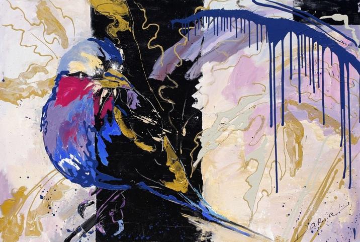 Daria Bagrintseva - Blue Bird