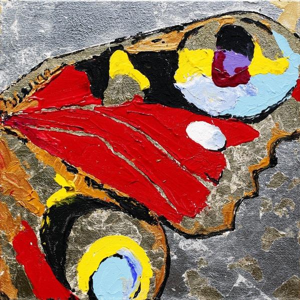 Daria Bagrintseva - Butterfly Wing 1