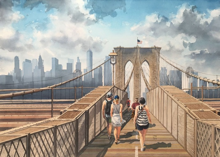 Eleanor Mill - The Brooklyn Bridge
