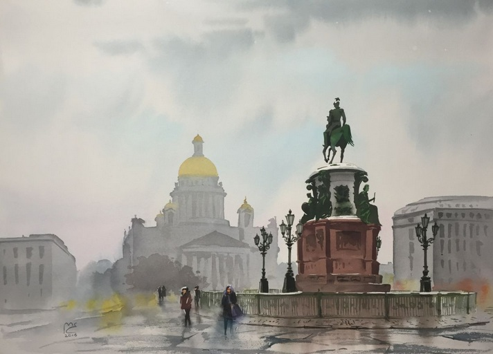 Eleanor Mill - The cold air, Saint Petersburg