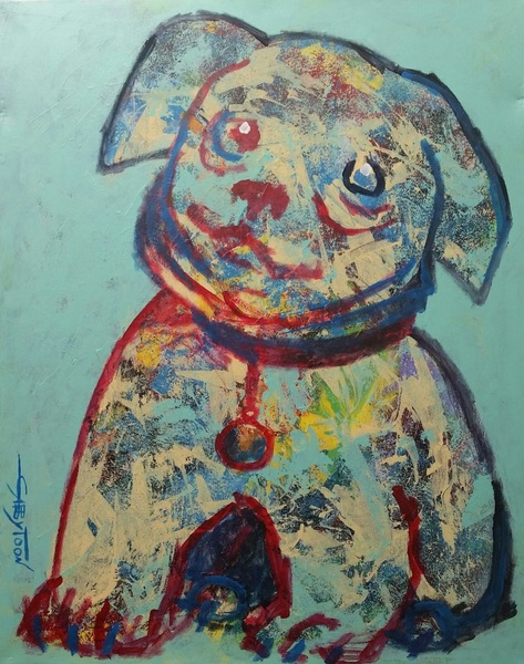 Gabriella DeLamater - A Big Puppy