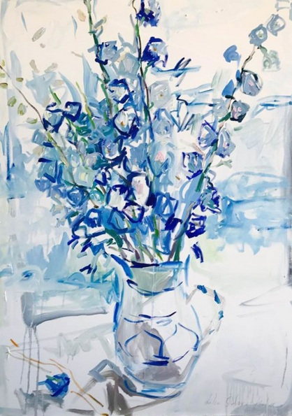 Lilia Orlova-Holmes - Breath of blue