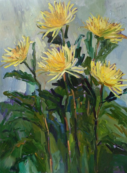 Lilia Orlova-Holmes - Chrysanthemum
