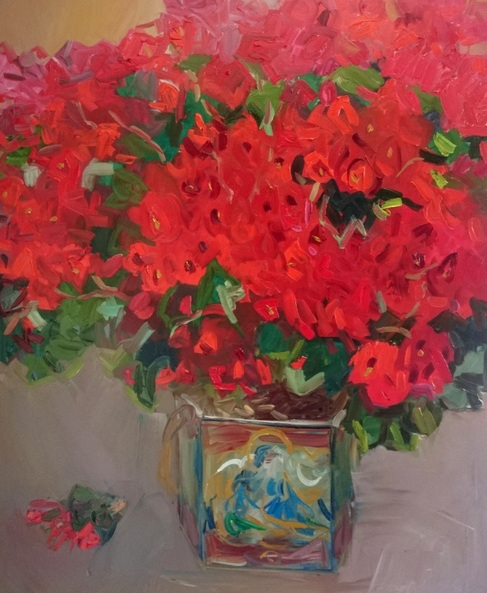 Lilia Orlova-Holmes - Fabulous begonia