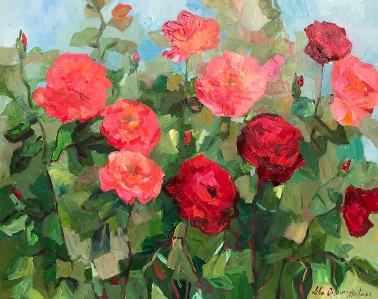 Lilia Orlova-Holmes - Rose garden
