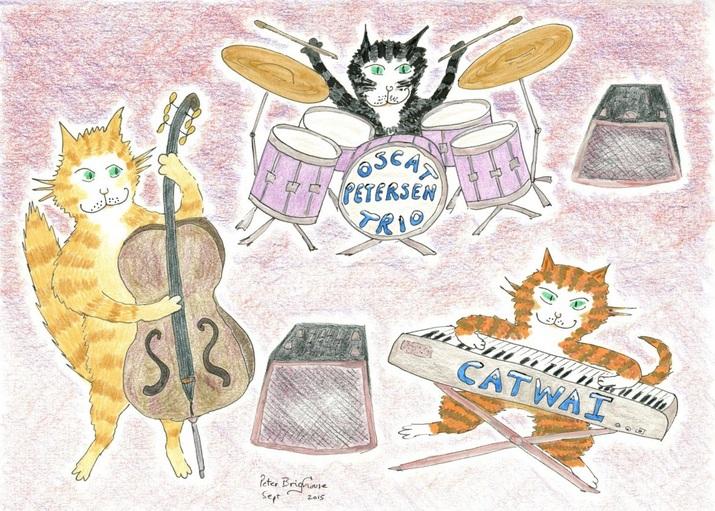 Peter Brighouse - Oscat Petersen Jazz Band