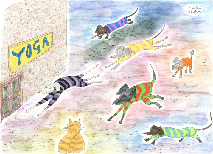 Peter Brighouse - Rasher Goes To Yoga