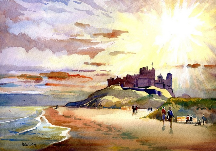 Peter Day - Bamburgh Castle, Northumberland