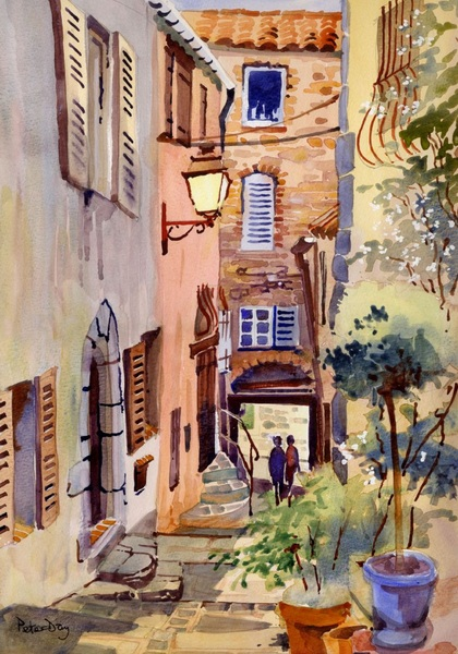 Peter Day - Grimaud, Provence, France