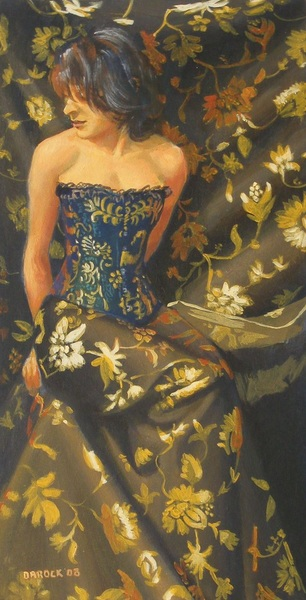 Peter Orrock - Corset and fabric
