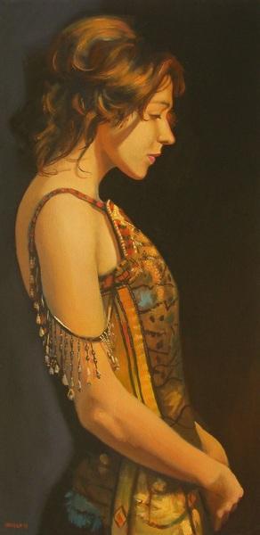 Peter Orrock - Jewelled dress
